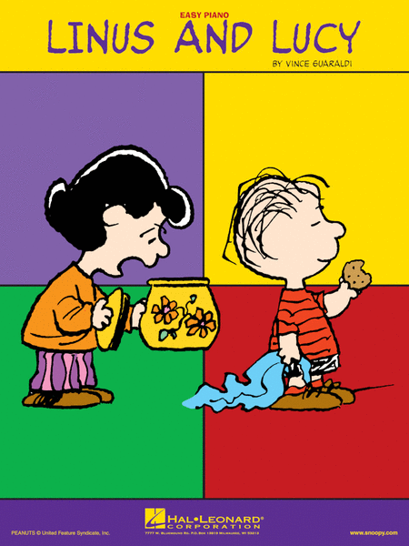 Linus And Lucy - Easy Piano