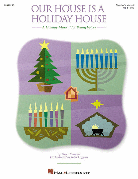 Our House Is a Holiday House - ShowTrax CD (CD only)