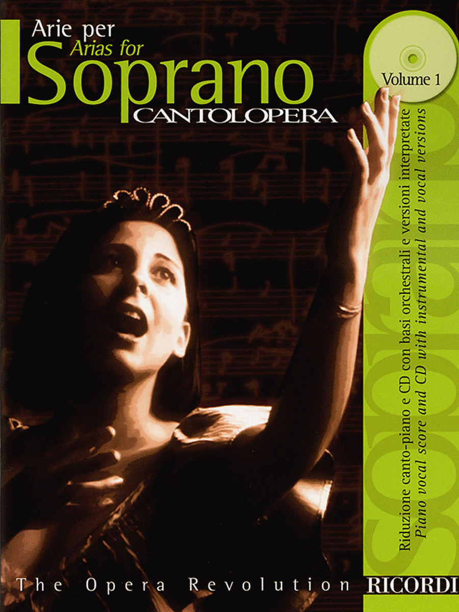Cantolopera: Arias for Soprano - Volume 1