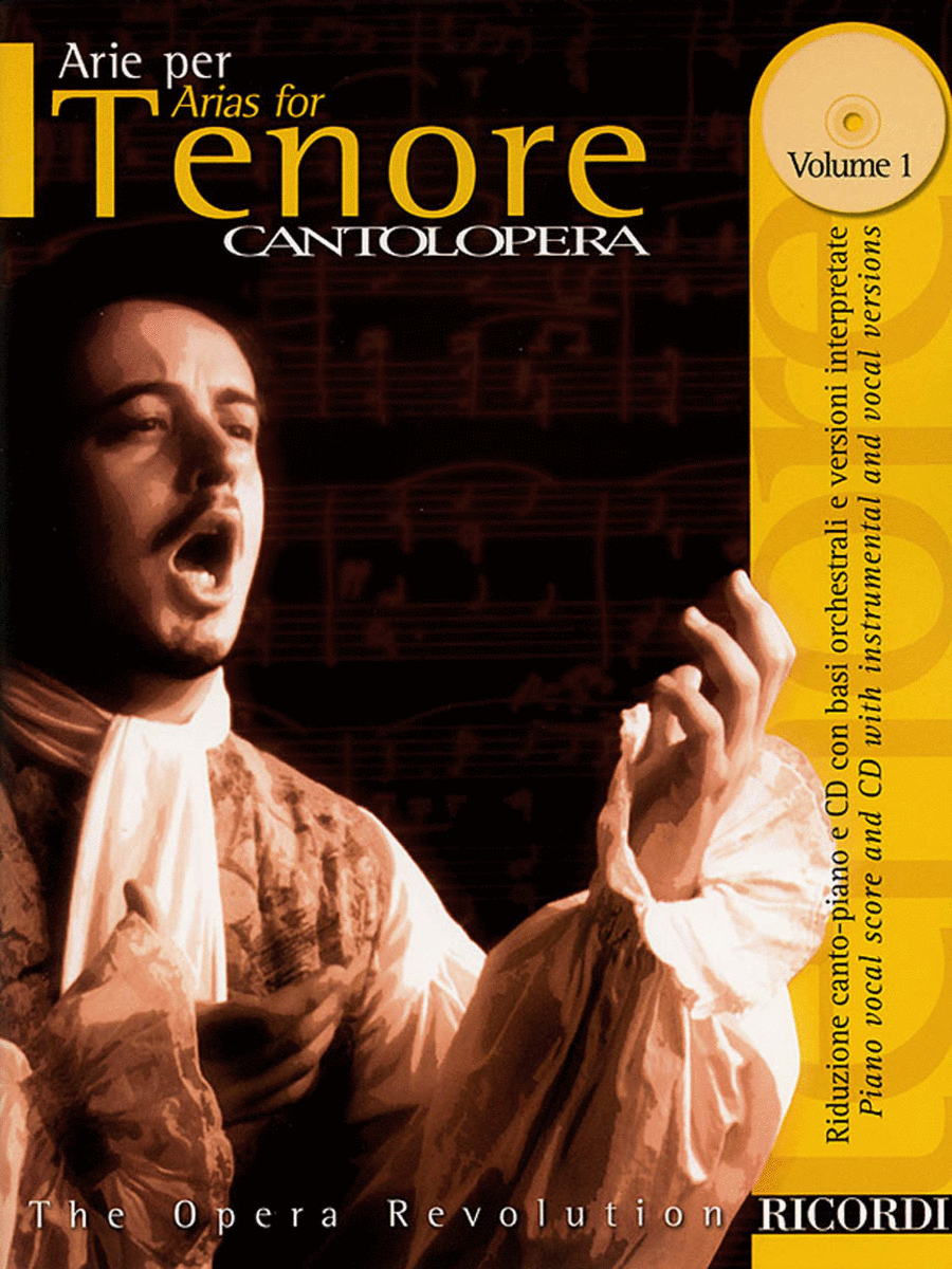 Cantolopera: Arias for Tenor - Volume 1