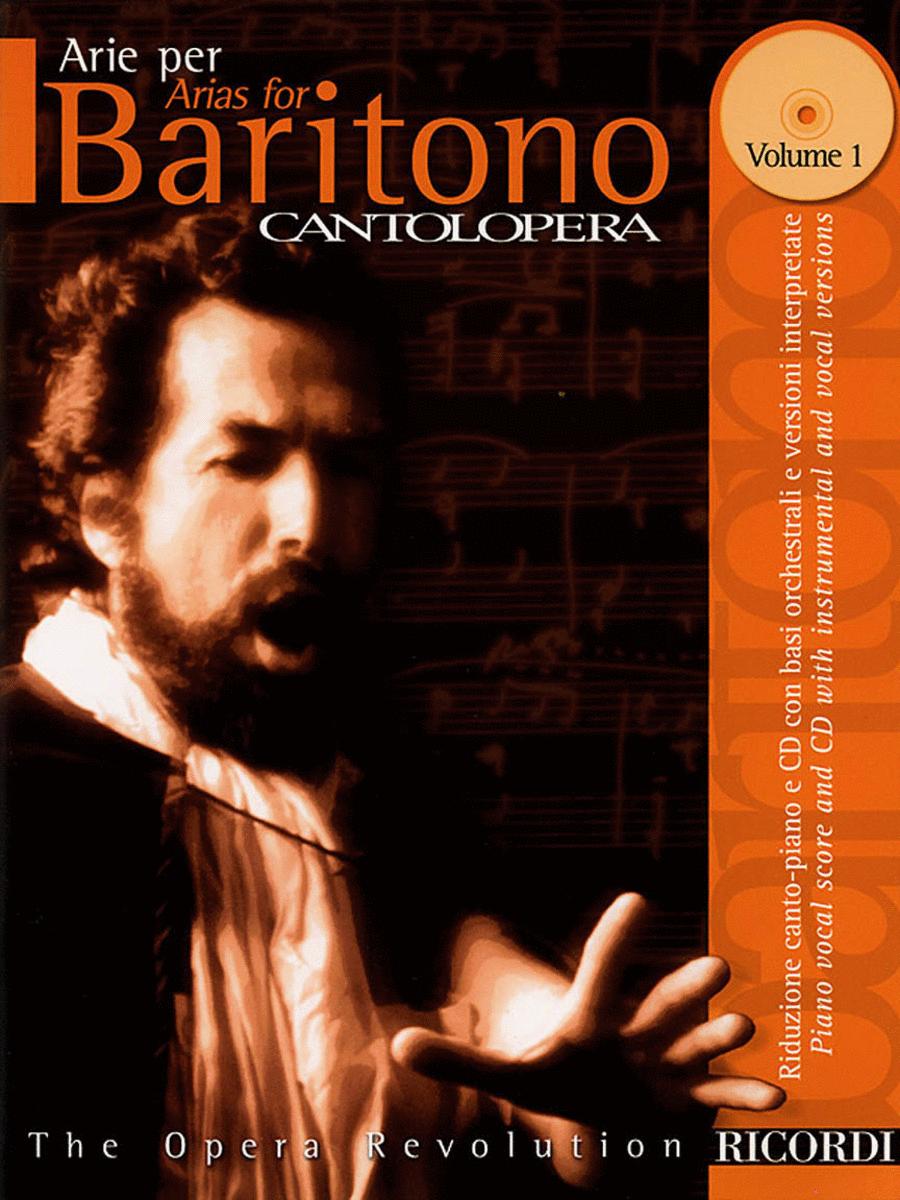 Cantolopera: Arias for Baritone - Volume 1