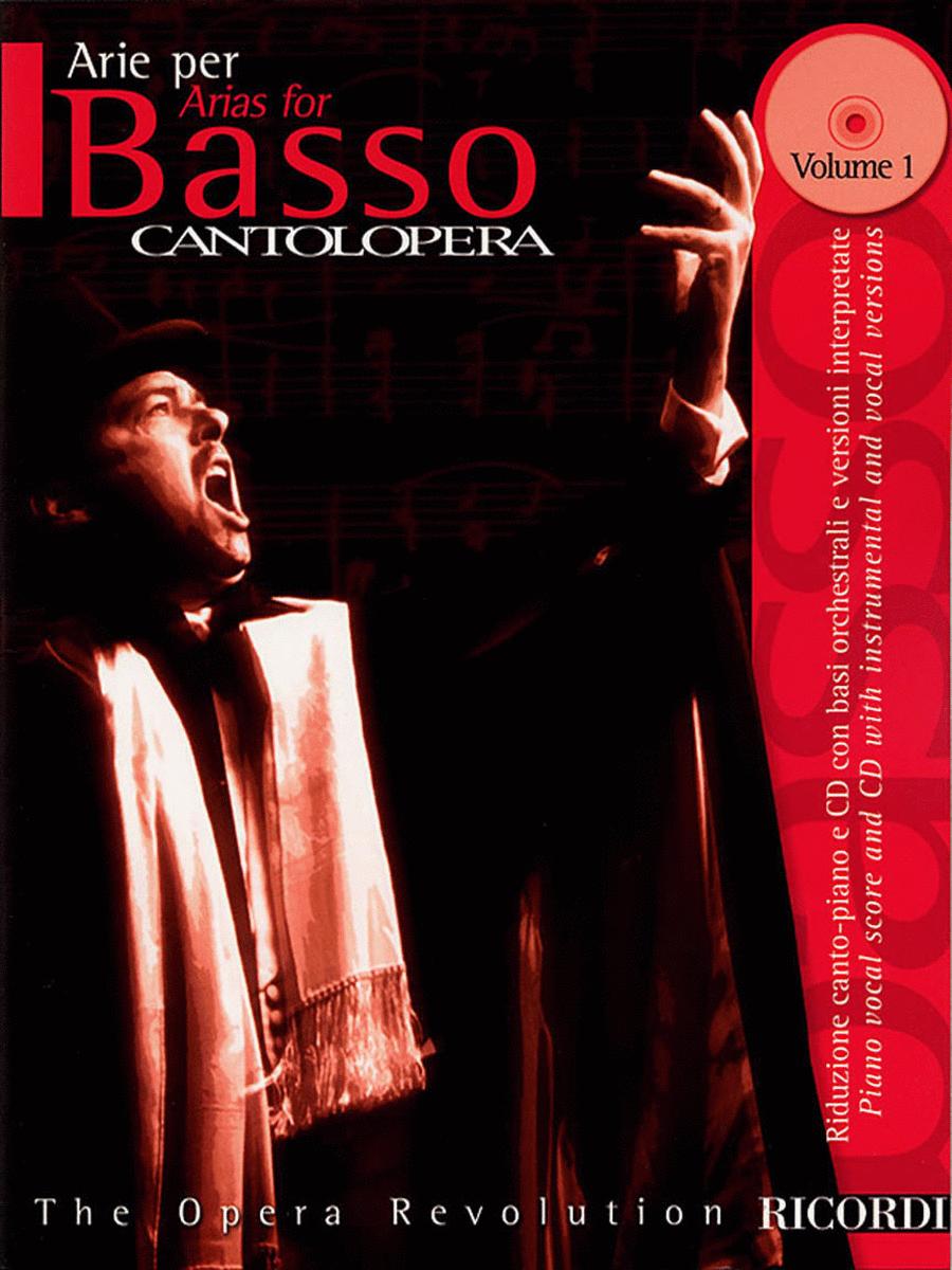 Cantolopera: Arias for Bass - Volume 1