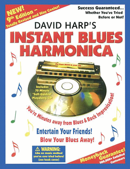 Instant Blues Harmonica, Ninth Edition