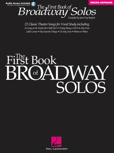 First Book Of Broadway Solos - Mezzo-Soprano