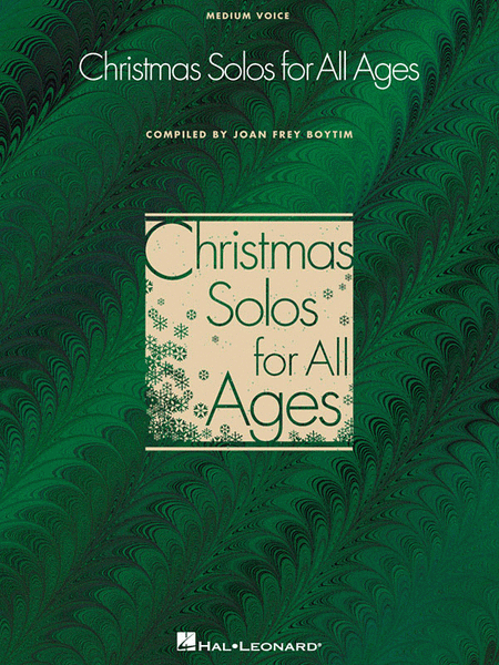 Christmas Solos for All Ages - Medium Voice