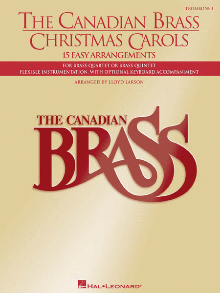Canadian Brass Christmas Carols - Trombone 1