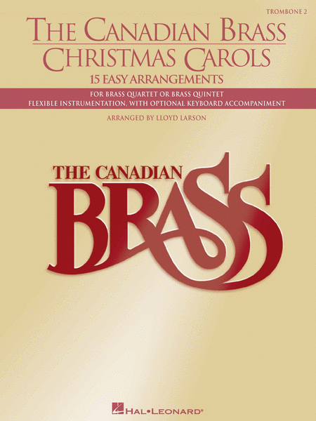 Canadian Brass Christmas Carols - 2nd Trombone