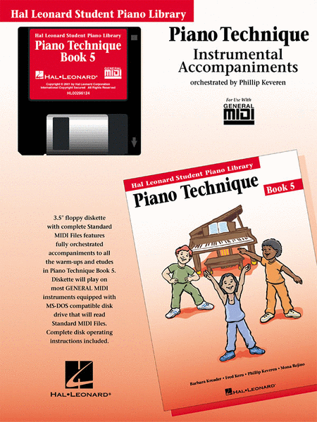 Piano Technique Book 5 - GM Disk