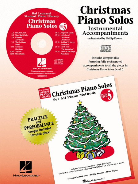 Christmas Piano Solos - Level 5 - CD