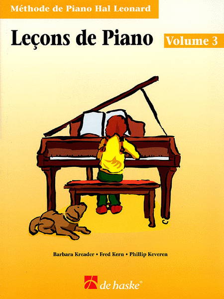 Piano Lessons Book 3 - French Edition