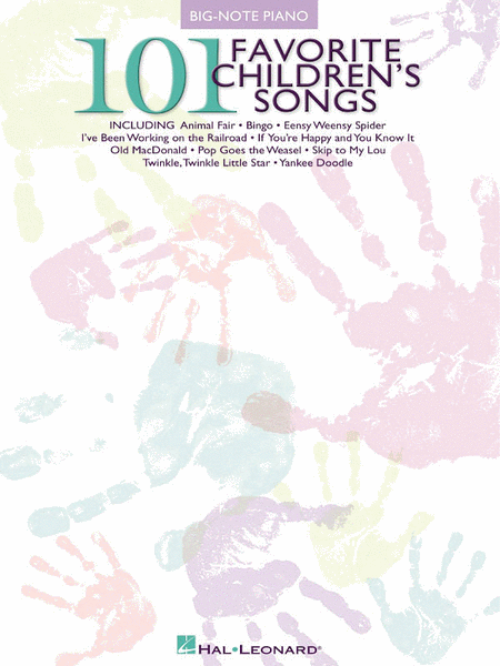 101 Favorite Children's Songs
