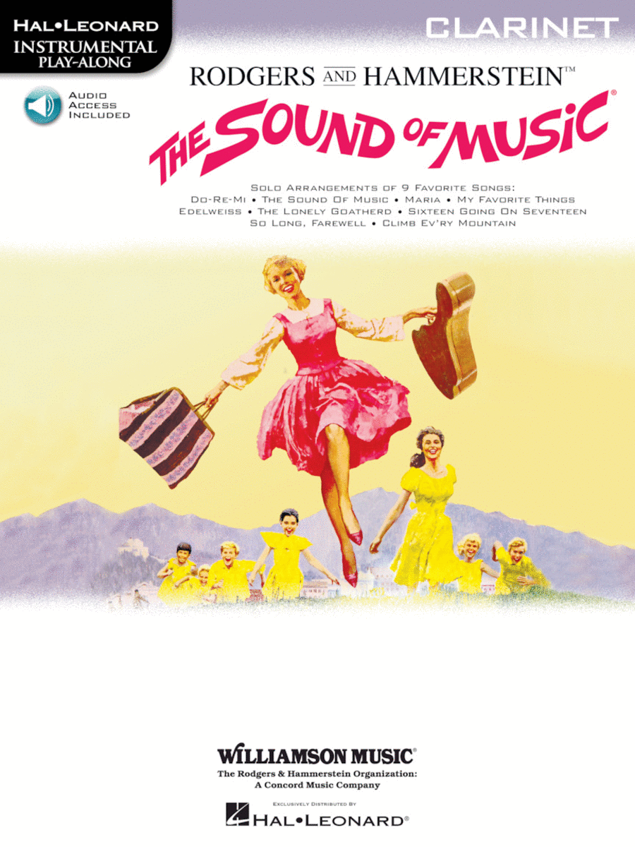 The Sound of Music - Instrumental Solos for Clarinet (with CD)