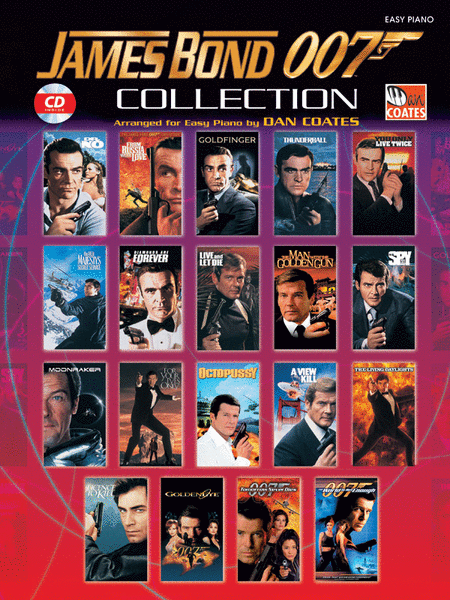 James Bond 007 Collection - Easy Piano (Book/CD)