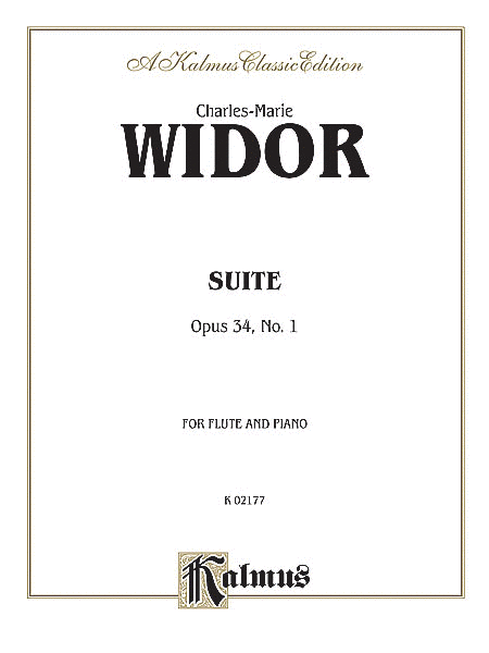 Suite, Opus 34, No. 1 for Flute and Piano