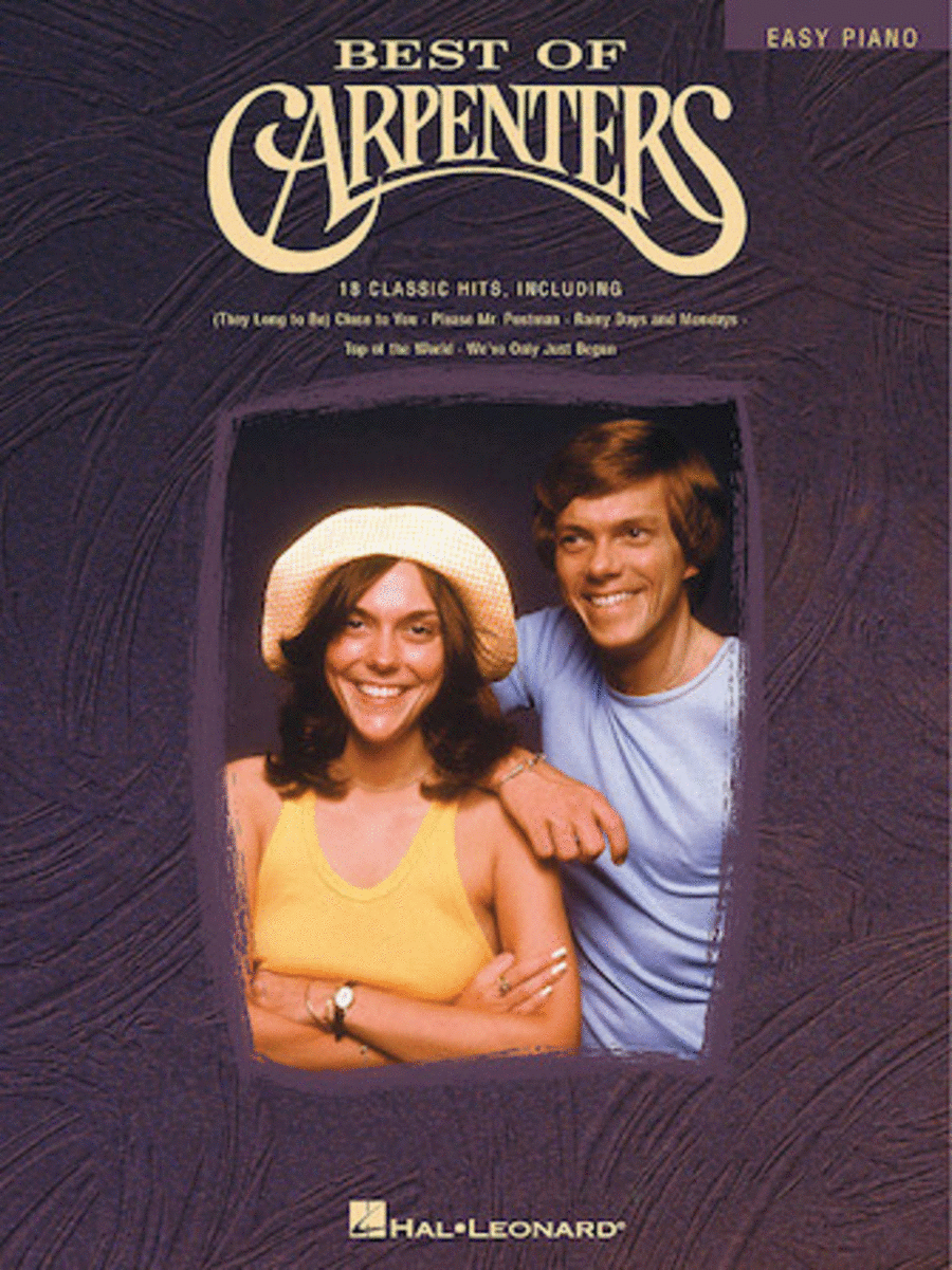 Best Of Carpenters - Easy Piano