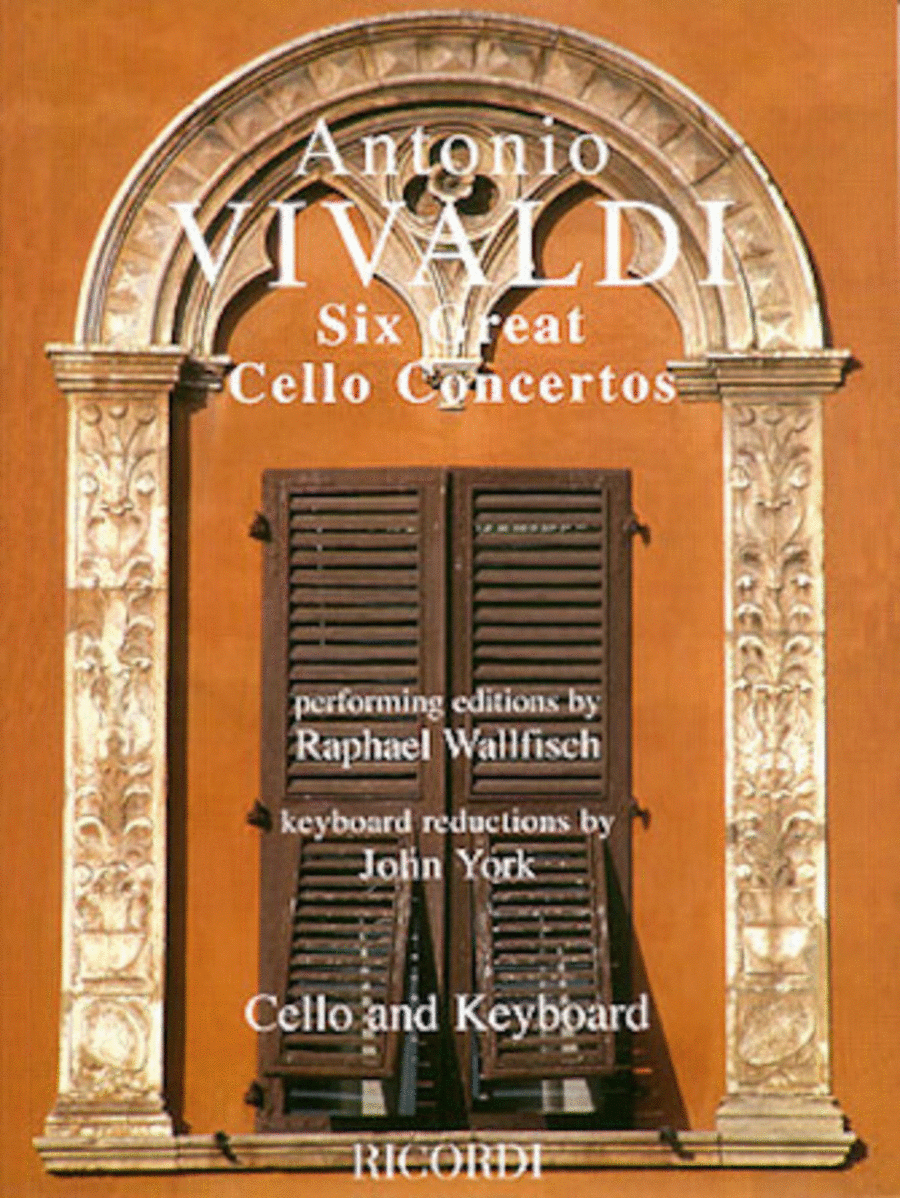 Six Great Cello Concertos