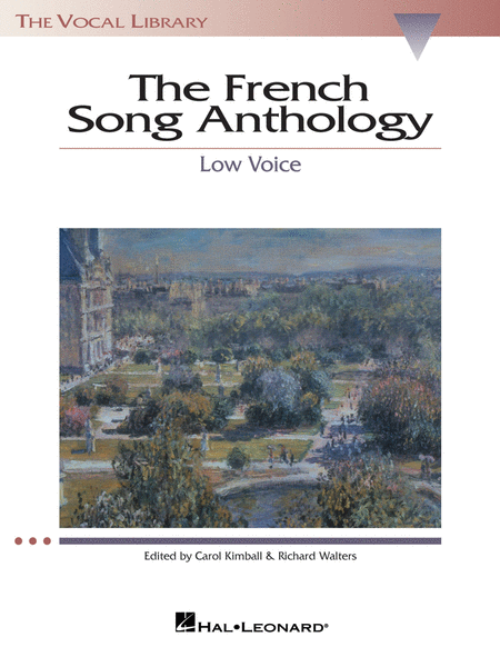 The French Song Anthology - Low Voice