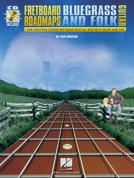Fretboard Roadmaps - Bluegrass And Folk Guitar - Book/CD