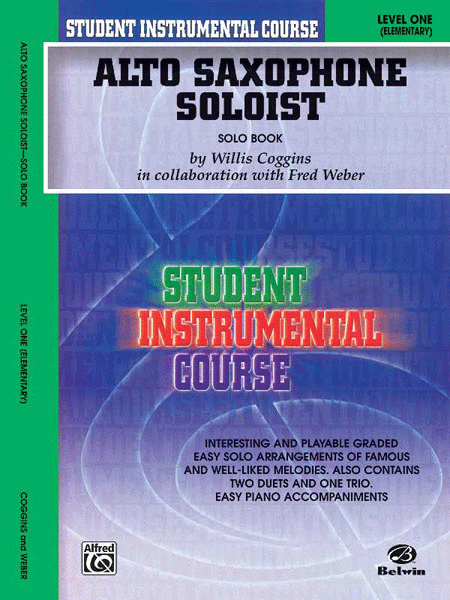 Student Instrumental Course Alto Saxophone Soloist