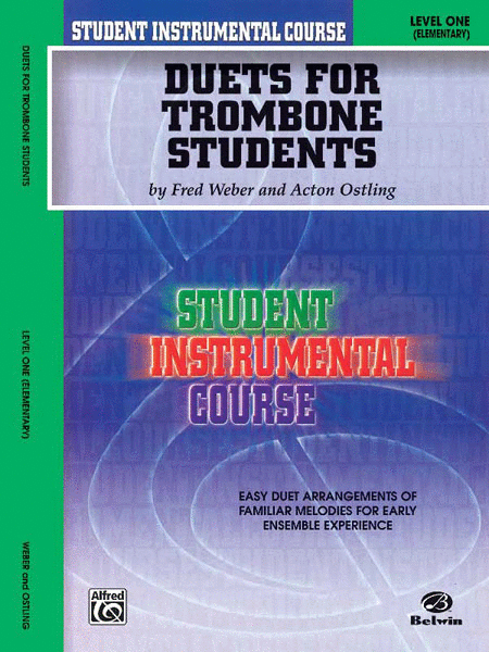 Student Instrumental Course Duets for Trombone Students