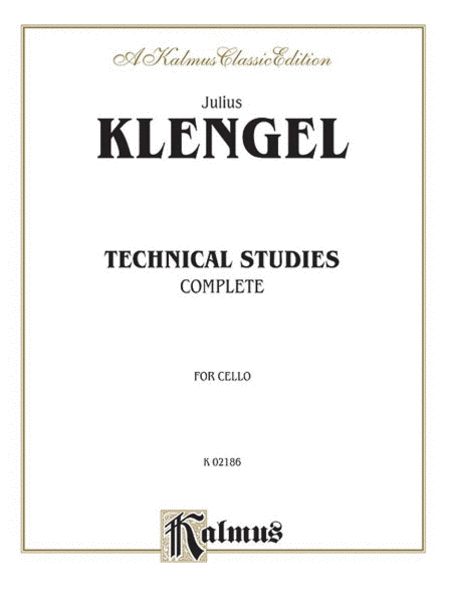Technical Studies For Cello