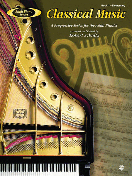 Adult Piano Classical Music, Book 1