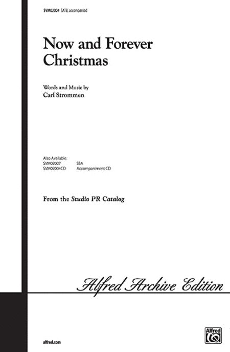 Now And Forever Christmas - SATB