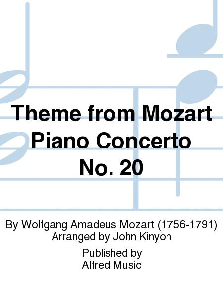 Theme from Mozart Piano Concerto No. 20