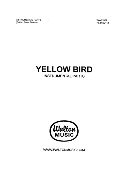 Yellow Bird (Instrumental Part)