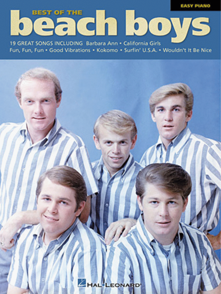 Best Of The Beach Boys - Easy Piano