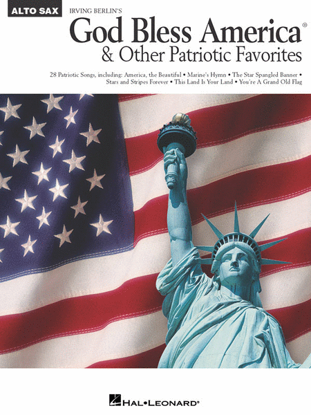 God Bless America & Other Patriotic Favorites - Alto Sax