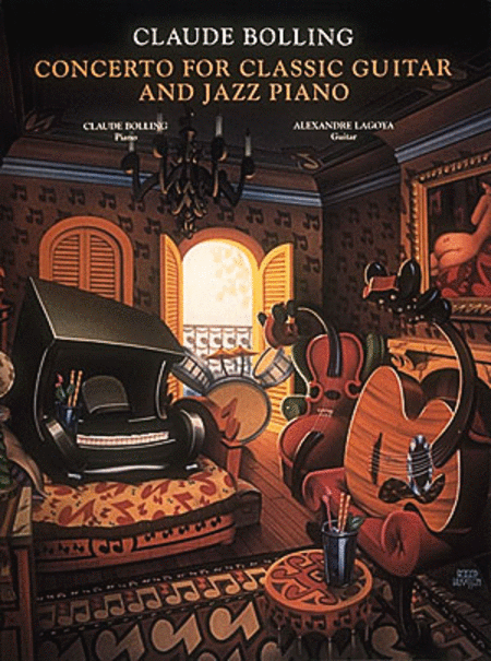 Concerto For Classic Guitar And Jazz Piano