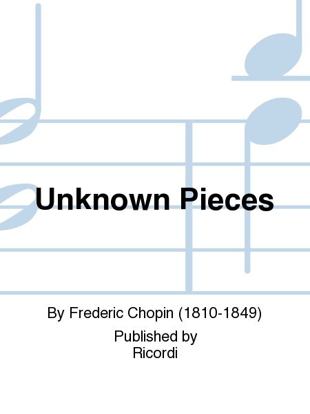 Unknown Pieces