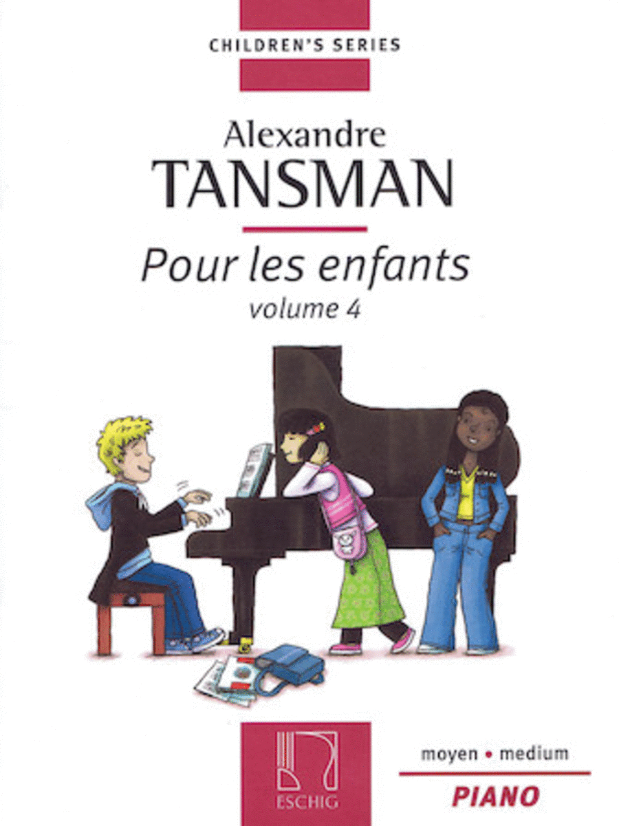 Pour les enfants (For Children) Volume 4