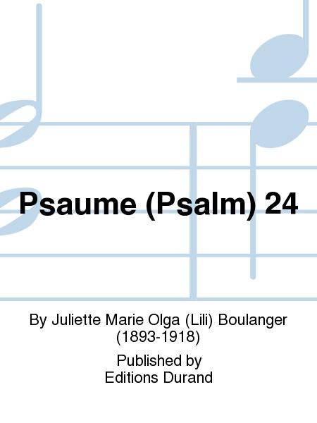 Psaume (Psalm) 24