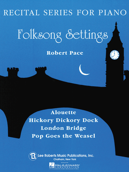 Recital Series For Piano, Blue (Book I) Folk Song Settings