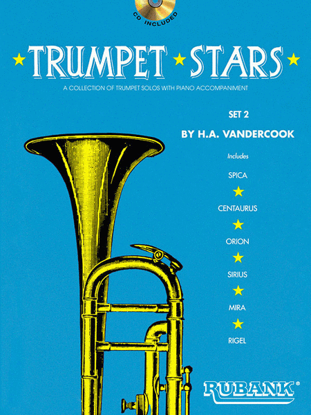 Trumpet Stars Set 2 (Book/CD)