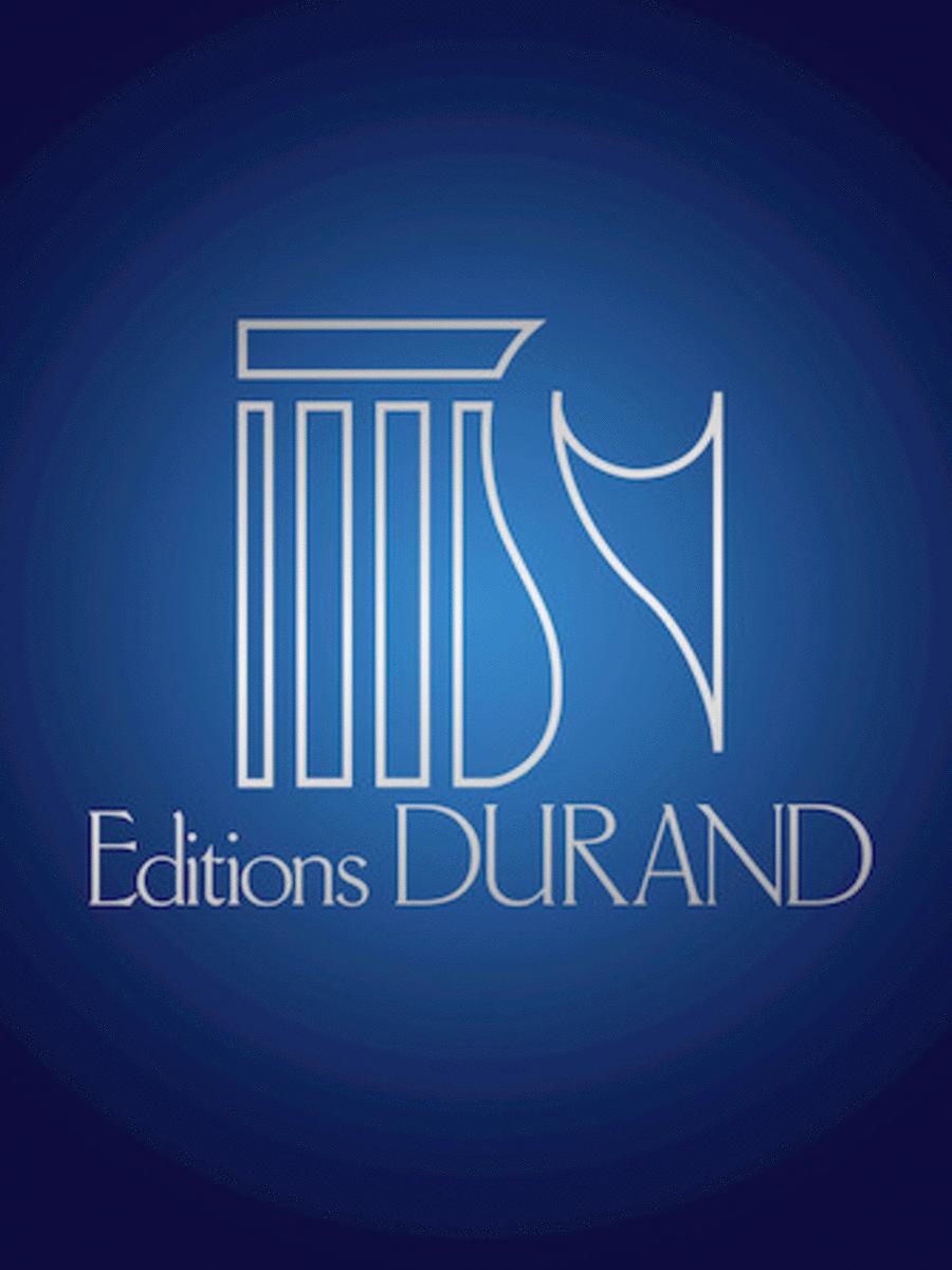3 Pieces Harp/clar/string Quartet Parts