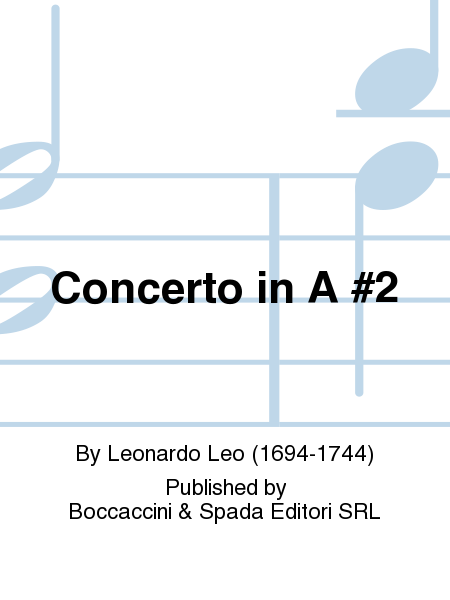 Concerto in A #2