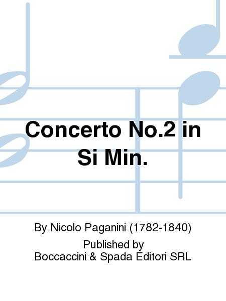 Concerto No.2 in Si Min.
