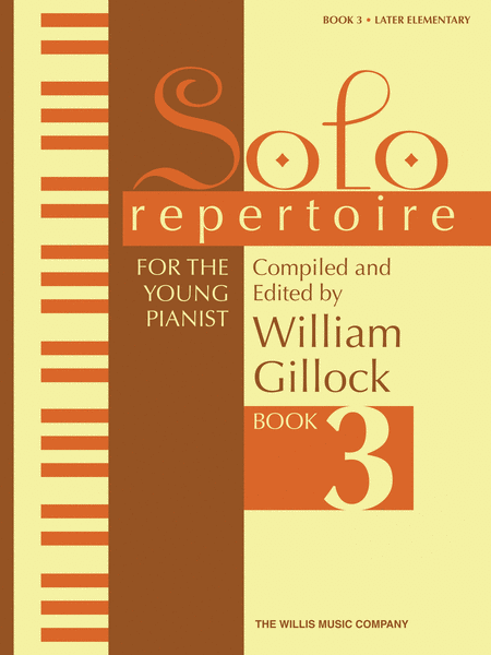 Solo Repertoire for the Young Pianist, Book 3