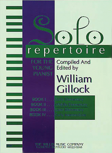 Solo Repertoire for the Young Pianist, Book 2