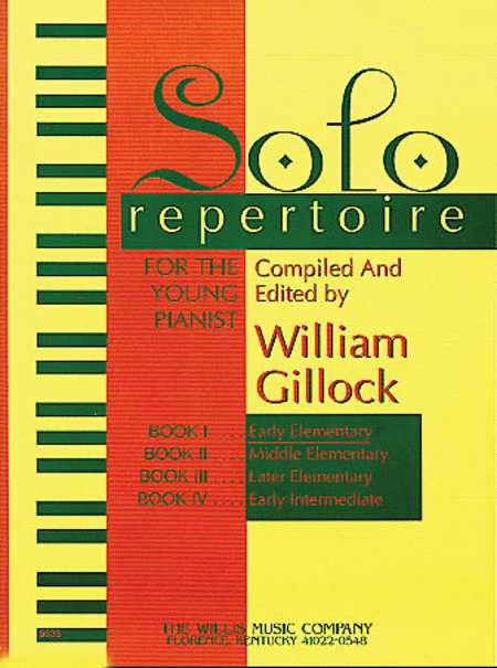 Solo Repertoire for the Young Pianist, Book 1