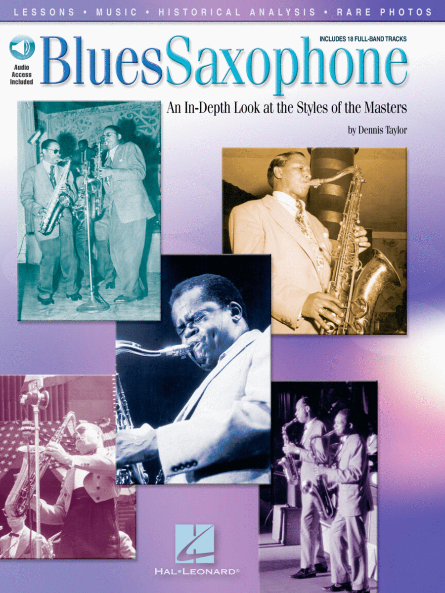 Blues Saxophone - Book/CD