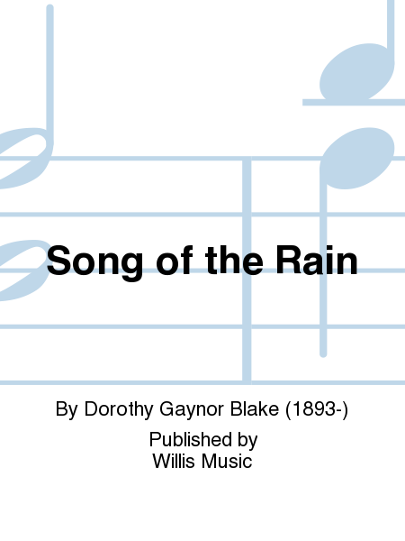 Song of the Rain