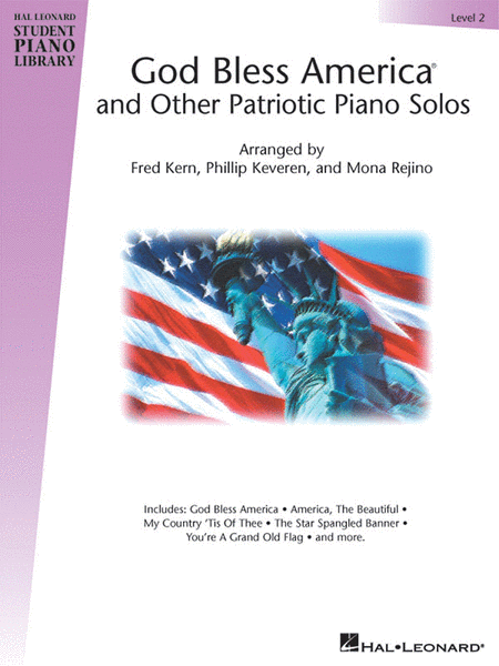 God Bless America And Other Patriotic Piano Solos - Level 2