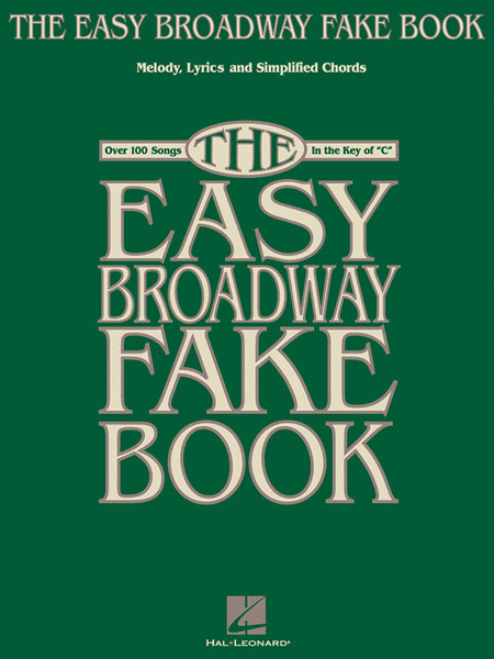 The Easy Broadway Fake Book