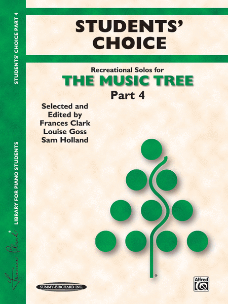 The Music Tree - Part 4 (Student's Choice)