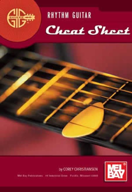 Gig Savers: Rhythm Guitar Cheat Sheet