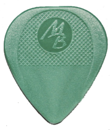 Authentic Green Mel Bay Guitar Picks - Light, 12/pkg